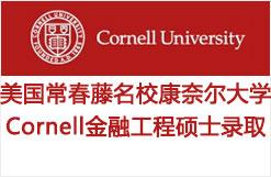 美国常春藤名校康奈尔大学Cornell金融工程硕士录取